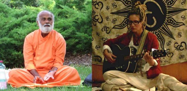 10 Dezembro: Música, Meditação e Jantar com Dada Krsnananda e Célia Ramos