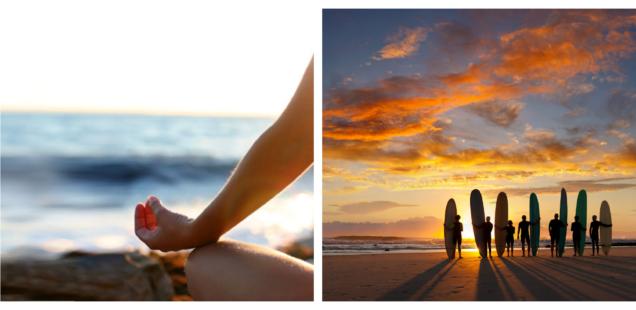 Yoga & Surf Mornings - 10 Dez