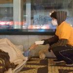 Auxílio social no Porto - Recolha de donativos